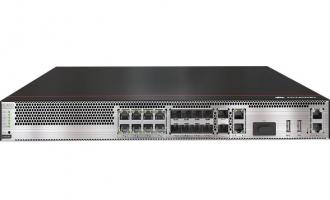 华为USG6335E防火墙(2*GE WAN+8*GE Combo+2*10GE SFP+,1交流电源,含SSL VPN 100用户)AI防火墙
