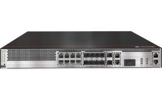 华为USG6585E防火墙(2*GE WAN+8*GE Combo+2*10GE SFP+,1交流电源,含SSL VPN 100用户)AI防火墙