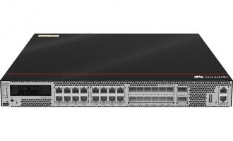 华为USG6655E防火墙(16*GE RJ45 + 12*10GE SFP+ + 2*40GE QSFP+,16G内存,2交流电源,含SSL VPN 100用户)AI防火墙