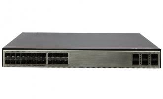 华为S6730S-H24X6C-A交换机(24个万兆SFP+,6个100GE/40GE QSFP28,含license,含1个600W交流电源)
