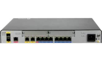 华为NetEngine AR6120-S路由器(1*GE WAN, 1*GE combo WAN, 1*10GE SFP+, 8*GE LAN, 2*USB, 2*SIC)