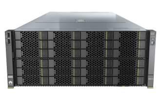 华为服务器5288X V5 36LFF(1*4210R CPU,1*32GB DDR4内存,9460-8i RAID卡,2*10GE(含2个多模光模块),1500W冗余电源,无DVD,滑轨)