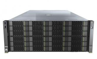 华为5288 V5服务器(36*3.5″盘位机型)(1*4210R CPU,1*32GB DDR4内存,SR450C RAID卡,无硬盘,2*GE+2*10GE,2*1500W电源,滑轨)