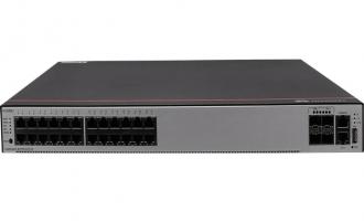 华为S5735-S24T4X交换机(24个10/100/1000BASE-T以太网端口,4个万兆SFP+,含1个60W交流电源)
