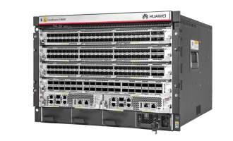 华为CloudEngine CE12804E数据中心交换机(含交流总装机箱,2*主控板,4*交换网板C,3*3000W 电源,2块48口万兆 ENP光口板,48个10G多模模块)