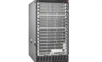 华为CloudEngine CE12816E数据中心交换机(含交流总装机箱,2*主控板,4*交换网板C,3*3000W 电源)
