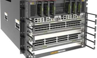 华为CloudEngine CE16804数据中心交换机(含交流/高压直流总装机箱,2*主控板D,3*交换网板F,2*3000W 交流&高压直流电源模块,满配风机盒)