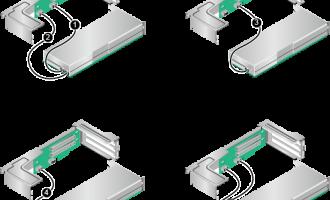 华为机架服务器安装GPU卡数量支持,配置规则及线缆连接方式