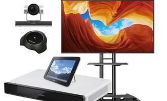 华为(HUAWEI) CloudLink Box300-1080P超高清视频会议电视终端
