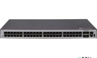 华为S1730S-H48T4S-A交换机(48个10/100/1000BASE-T以太网端口,4个千兆SFP,交流供电)