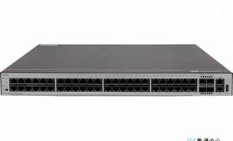 华为S1730S-S48P4S-A交换机(48个10/100/1000BASE-T以太网端口,4个千兆SFP,PoE+,含1个1000W电源)