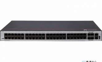 华为S1730S-S48T4S-A交换机(48个10/100/1000BASE-T以太网端口,4个千兆SFP,交流供电)
