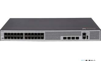 华为交换机S5735S-L24T4S-MA(24个10/100/1000BASE-T以太网端口,4个千兆SFP,交流供电) 视频监控交换机
