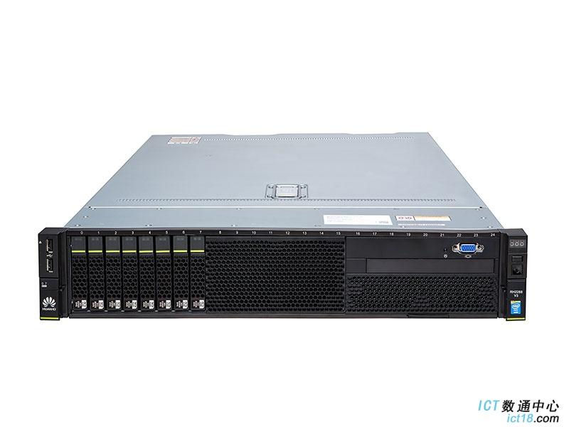 华为(HUAWEI)FusionServer RH2288 V3机架服务器 25盘典配(1*E5-2620 V3 CPU,1*8GB DDR4内存,无RAID卡,无硬盘,2*GE,1*460W电源,无DVD,滑轨)