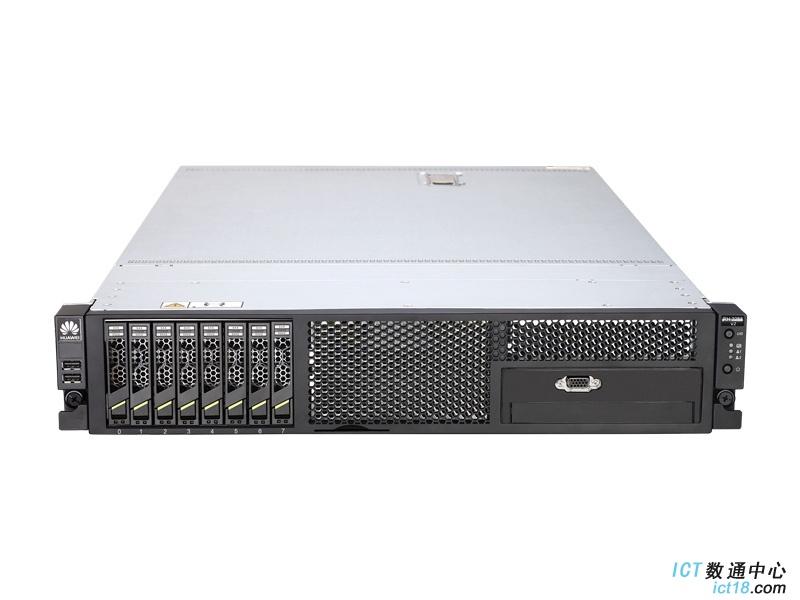 """华为(HUAWEI)RH2288H V2机架服务器 8盘典配(1*E5-2650 V2 CPU,1*8GB 内存,1*2.5""""300GB SAS 硬盘,4*GE,RAID 0/1/5/6 SR320卡512MB Cache,1*750W电源,备份还原工具,DVD,滑轨)"""