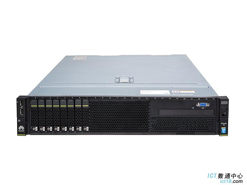 华为(HUAWEI)RH2288 V3机架式服务器 一颗E5-2609处理器/32G内存/3块600G(SAS)硬盘/SR430阵列卡/双口网卡/DVD/导轨