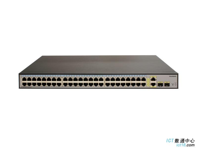 华为(HUAWEI)S1700-52FR-2T2P-AC交换机 48口百兆交换机2千兆光口+2千兆电口