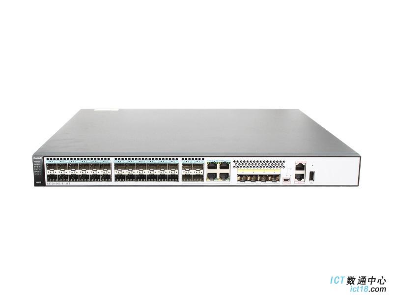华为(HUAWEI)S5720-36C-EI-28S-AC交换机 28个千兆SFP,4个复用千兆口,4个万兆SFP+