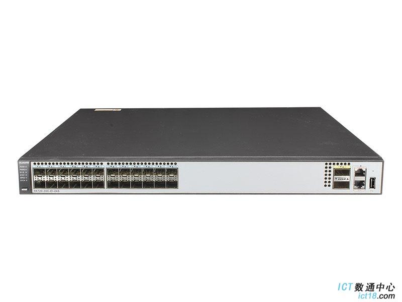 华为(HUAWEI)S6720S-26Q-EI-24S-AC交换机 万兆交换机,24×10GE SFP+端口,2×40GE QSFP+端口