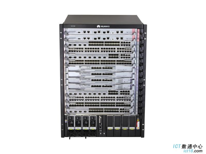 华为(HUAWEI)S12708交换机 下一代园区网核心设计开发的敏捷交换机