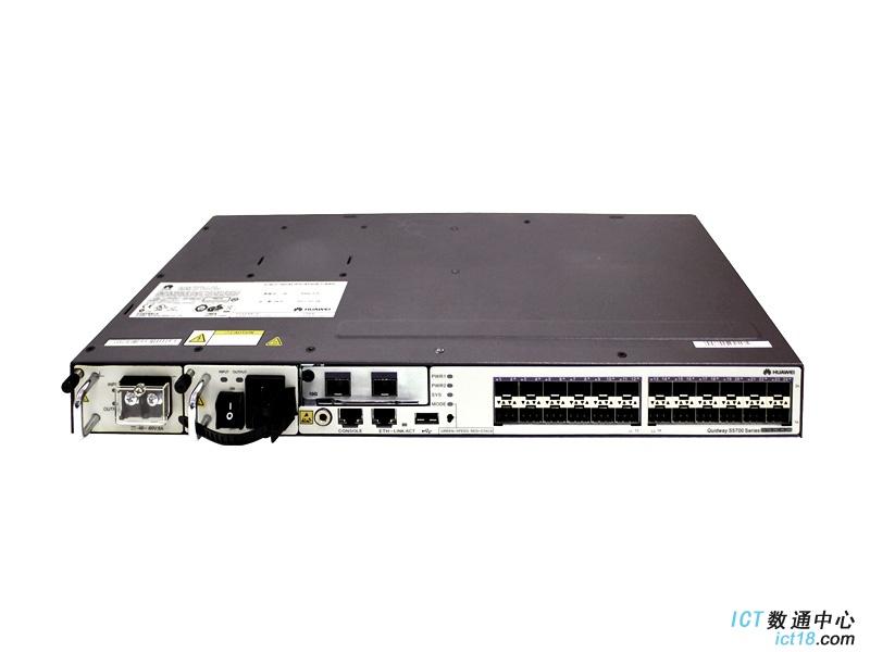 华为(HUAWEI)S5700-28C-HI-24S交换机 高级型交换机,24 x 10/100/1000 Base-T端口