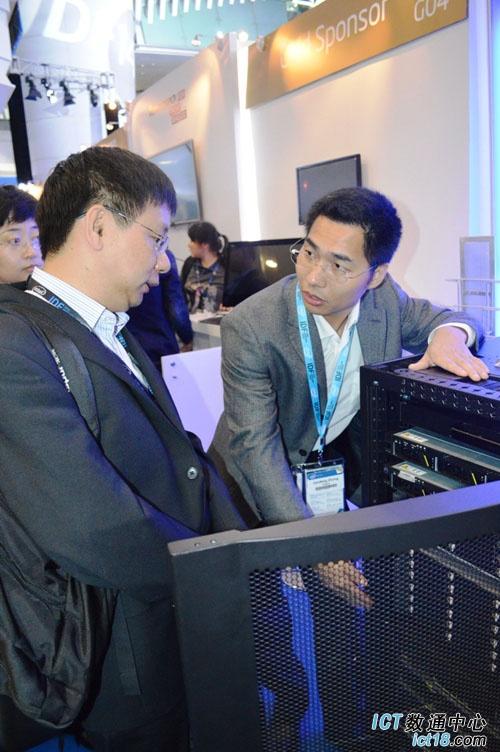 IDF2014:众厂商齐聚 华为服务器与解决方案亮相