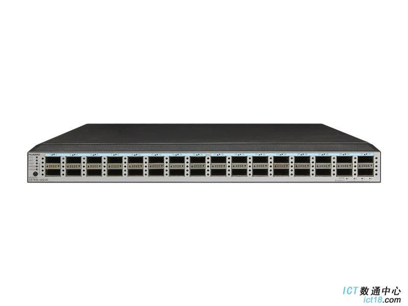 华为(HUAWEI)CE7855-EI-B-B00数据中心交换机(32*40GE QSFP+,2*交流电源,端口侧进风)