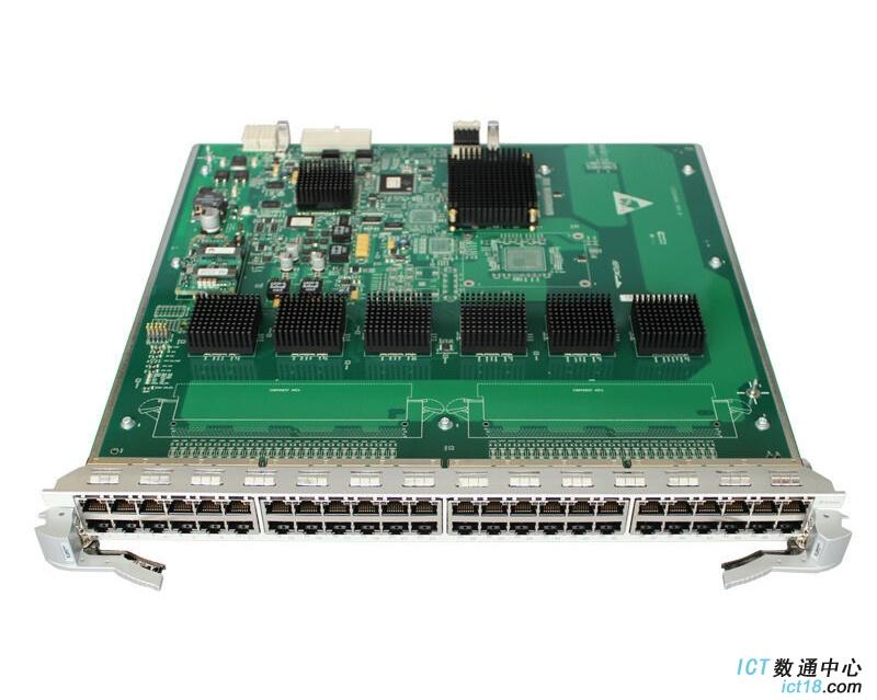 华为(Huawei)LE0MG48TA 48端口百兆/千兆以太网电接口板(EA,RJ45)(适用于华为S9300系列交换机)