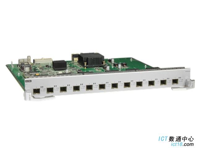 华为ET1D2X12SSA0板卡-12端口万兆以太网光接口板(SA,SFP+)(适用于华为S12704/S12708/S12710/S12712交换机)