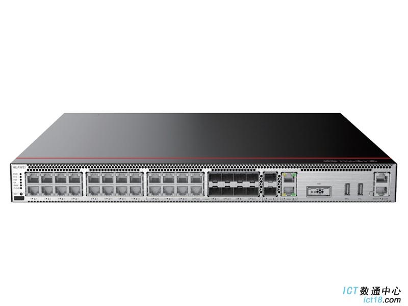 华为USG6550E-AC防火墙(2*GE WAN+8*GE Combo+16*GE RJ45+2*10GE SFP+,1交流电源,含SSL VPN 100用户)AI防火墙