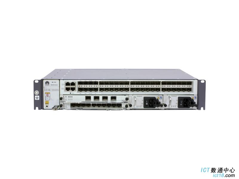 华为NE20E-M2F路由器交流基本配置(含NE20E-M2F机框,固定4*10GE-SFP+和40GE-SFP接口/双交流电源/风扇单元/电源线)