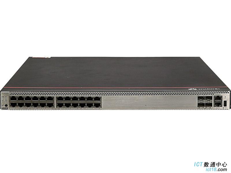 华为S5731S-H24T4S-A交换机(24个10/100/1000BASE-T以太网端口,4个千兆SFP,含1个150W交流电源)