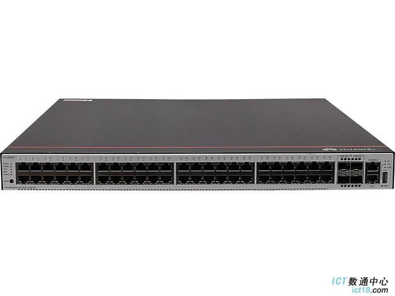 华为S5735S-S48T4S-A交换机(48个10/100/1000BASE-T以太网端口,4个千兆SFP,含1个60W交流电源)