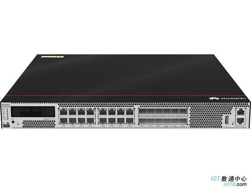 华为USG6615E防火墙(16*GE RJ45 + 6*GE SFP + 6*10GE SFP+,1交流电源,含SSL VPN 100用户)AI防火墙