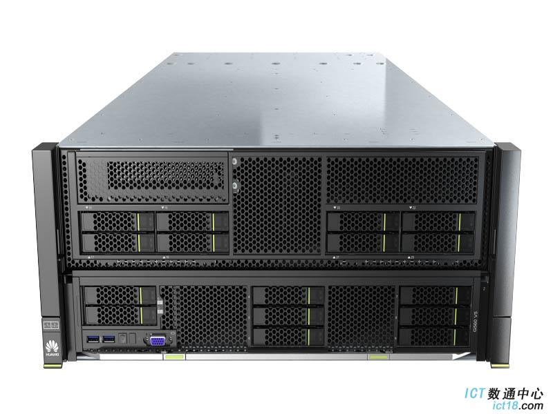 华为G5500异构服务器(G560 V5机型,2*4114 CPU,64GB内存,无硬盘,无raid,GP608异构计算模块,,2*10GE光口,4*2200W电源,滑轨)