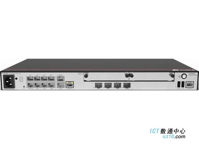 华为路由器AR6121E-S 固定WAN 接口:2*GE Combo,1*10GE 光(兼容GE 光),固定LAN接口:1*GE Combo,8*GE 电(可切换为WAN 口)